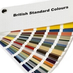 British Standard Colour Swatch Fan