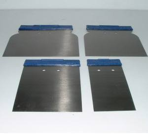 Metal Paint Spreaders x 4