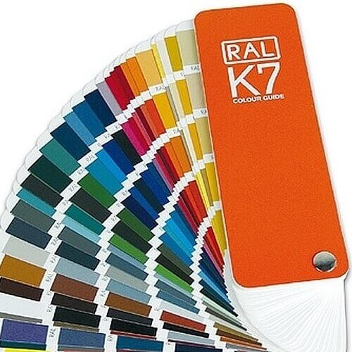 Ral Classic K7 Colour Swatch Fan